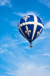 Hot air balloon - Fleur-de-lys