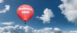 Hot air balloon Holidays 2020