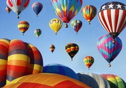 Hot Air Balloon Mass Ascension