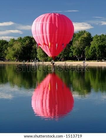 Hot Air Ballooning reflection