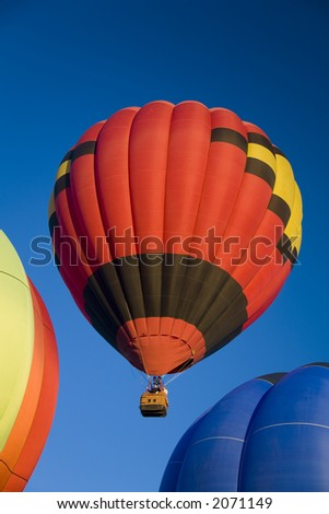 Hot air balloons at Balloonapalooza, Las Vegas, Nevada