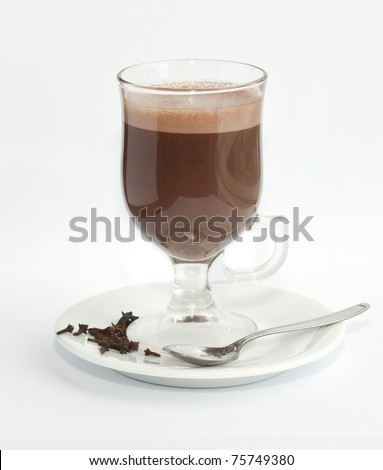 Hot chocolate. Swallow dof