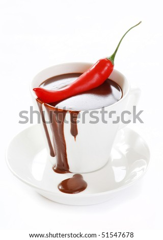 hot chocolate with chili