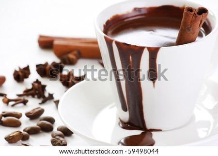 hot chocolate with spice