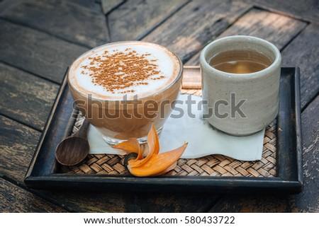 hot coffee #580433722