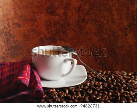 hot coffee #94826731