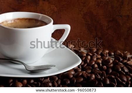 hot coffee #96050873