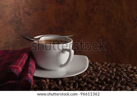 hot coffee #96611362