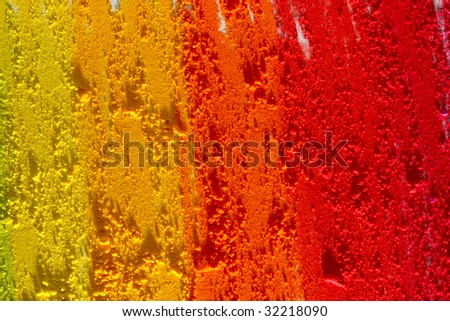 Hot colors texture