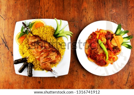 Hot Egyptian food