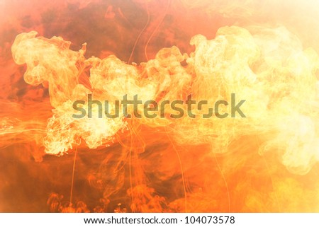 hot fire flame background image