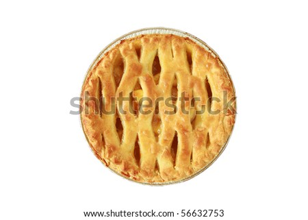 "Hot fresh baked apple pie, just like ""Mom"" makes.   various views"