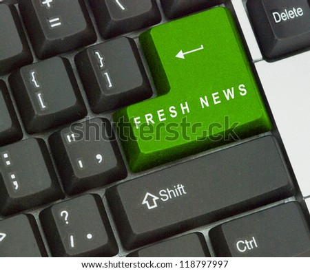 Hot key for fresh news