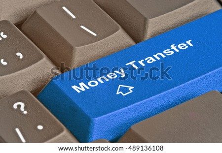 Hot key for money transfer #489136108