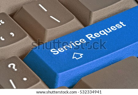 Hot key for service request #532334941