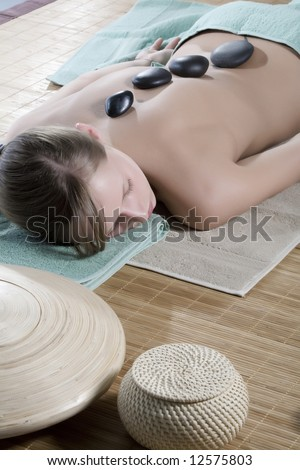 Hot Mineral Sacred Stone Treatment Hands On Massage