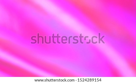 Hot Pink color gradient. Abstract blurred background. Creases on the silk Stock photo ©