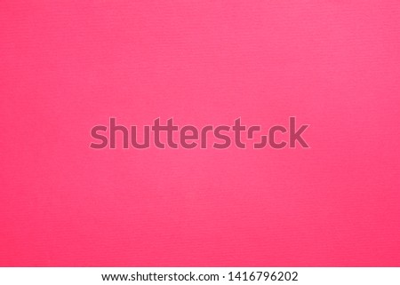 Hot pink felt texture abstract art background. Solid color construction paper surface. Empty space. Stock photo ©