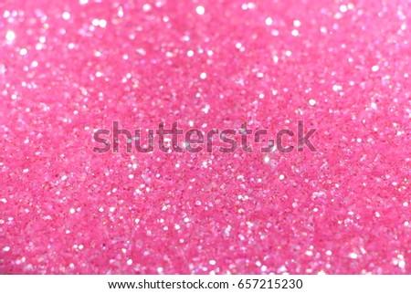 Hot pink glitter with bright blue iridescent light reflection study  Stock photo ©