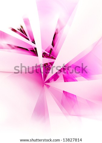 Hot Pink Hub -fractal design