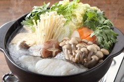 hot pot japanese traditional food