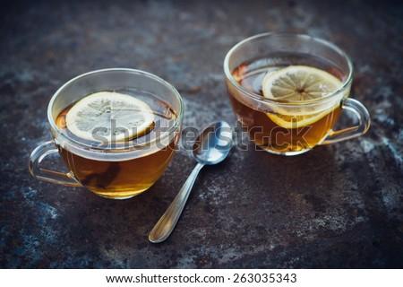 Hot Tea With Lemon