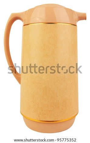 hot water jug isolated white
