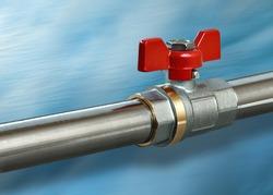 Hot water valve