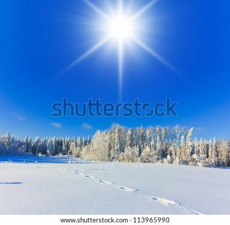 Hot Winter snow