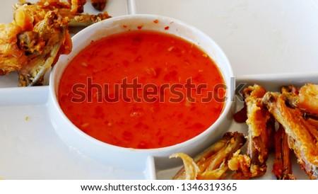 Hotdog dipping sauce #1346319365