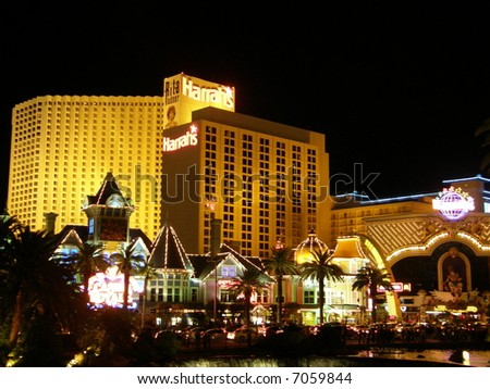 Hotel & Casino in Las Vegas - stock photo