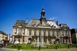 Hotel de ville of TOURS, france