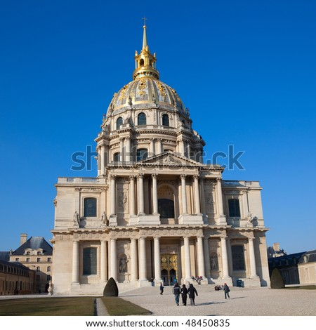 Hotel des Invalides, in Paris, France