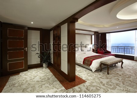 Hotel guest room interiors