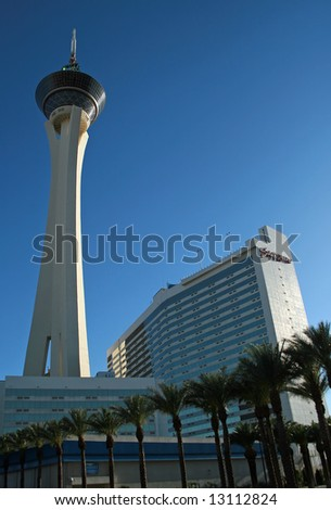 Hotel in Las Vegas - stock photo