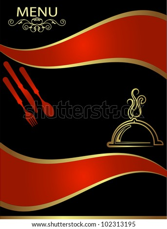 frequent diner card template - hotel menu design template stock photo 102313195
