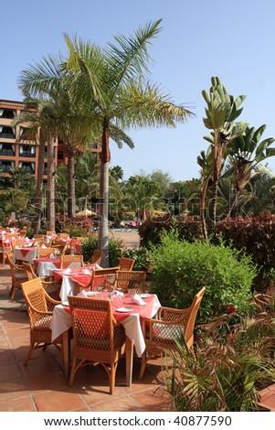 Hotel - restaurant view