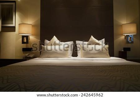 Hotel room Interior.