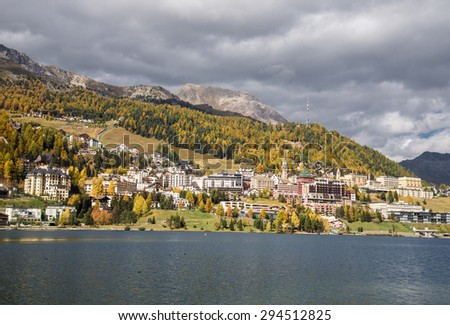 Hotels and Nature in St. Moritz