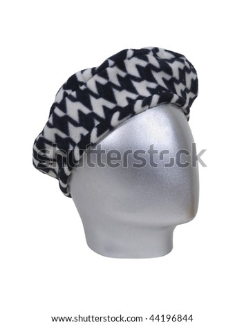 Houndstooth driving cap for leisurely drives through the countryside - path included