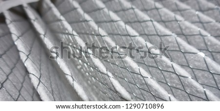 Photo of  House air filter close-up