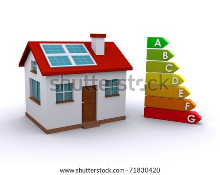 house and energy rating chart