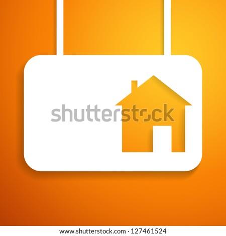 House applique background. Illustration for your business presentation ...