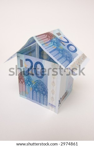 house build with euro cash