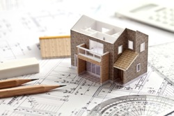 House, design, drawing