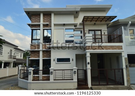House Exterior Architecture #1196125330