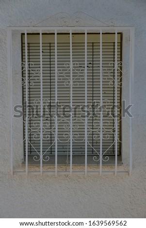 House facades, bricks, cityscapes in La Nucia, Alicante Province, Costa Blanca, Spain, February 8, 2020