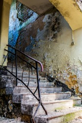 House Floor Stairs after flood damage