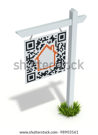 House for sale online - stock photo