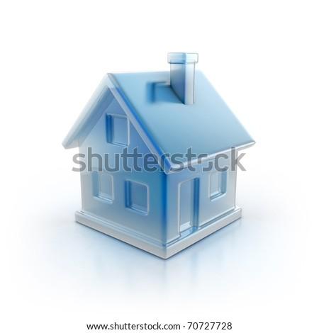 house icon 3d illustration